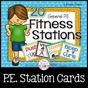 General P.E. Fitness Stations