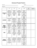 General Project Rubric