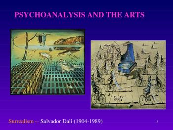 Psychology - Freud and Psychoanalysis Powerpoint