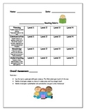 General Reading Rubric