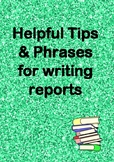 Australian Report Writing Comments MAY/JUNE SPECIAL
