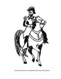 General Santa Anna coloring page