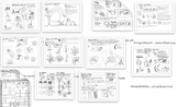 General Science Coloring Sheet Bundle (made for Grades 4-7)