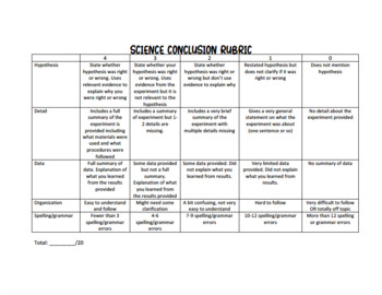 Conclusion rubric essay family and consumer science teacher resume