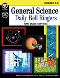 General Science Daily Bell Ringers Grades 5-8 SALE 20% OFF 404251