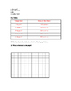 General Science Diagnostic Pre-Test and Answer Key