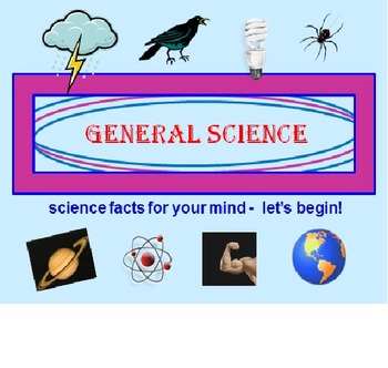 General Science Powerpoint Lesson (Grades 4-8)