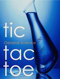 General Science Tic Tac Toe/Choice Board