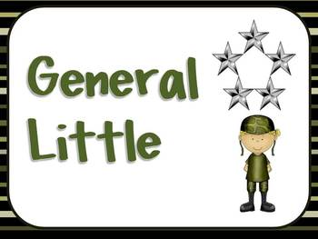General Sign for Boot Camp Test Preparation EDITABLE*