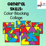 General Skills: Color Blocking Collage