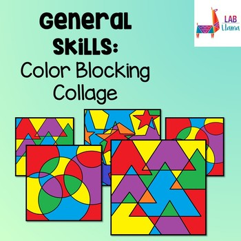 General Skills: Color Blocking Collage