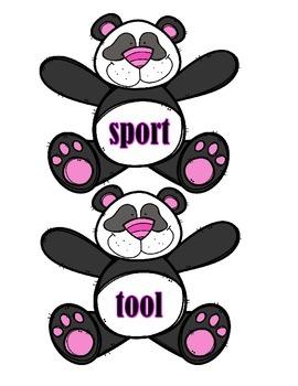 General & Specific Nouns - Pandas