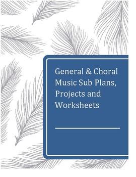 General & Vocal Music Sub Plans