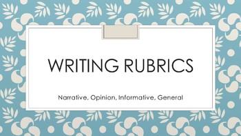 General Writing Rubric
