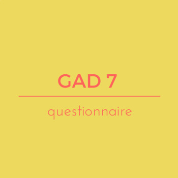 General anxiety disorder questionnaire