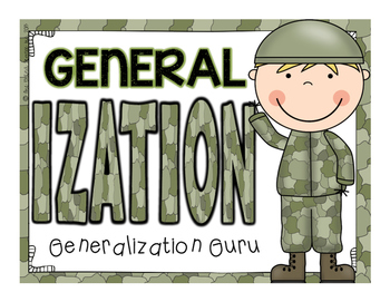 Generalization Guru {Supplemental File}