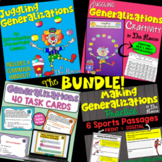 Generalizations: A Bundle of Activities