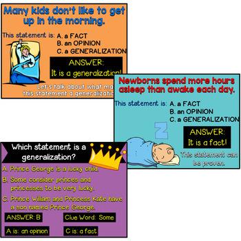 Generalizations: A Bundle of Activities