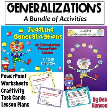 Valid Generalizations Worksheets Teaching Resources TpT
