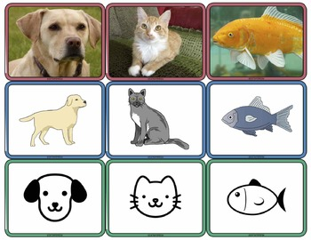 Generalizing: Photos to Symbols: Matching Real Photos to Illustrations & Symbols