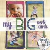 Action Flash Cards... my BIG verb cards! Real Life Images