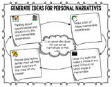 Generate Ideas for Personal Narrative Teacher Chart