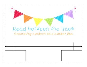 Generate numbers on a number line
