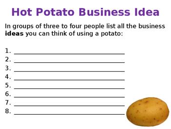 Generating Business Ideas & Entrepreneurs - Sources of Ideas - PPT & Group Tasks