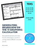 Generating Regression on the Ti Calculator