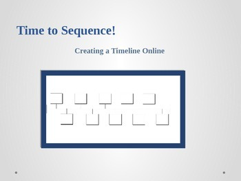 Generating Timelines on Teachnology.com