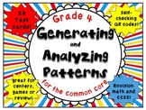 Generating and Analyzing Patterns