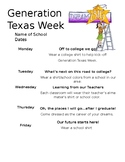 Generation Texas Week Flyer Spanish/English