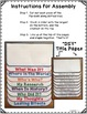 Generic Blank Research Flip Book For Any Historical Event, Activities