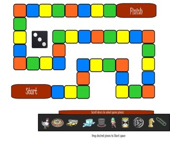 Board Game for SMART Notebook