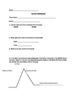 Generic Book Quiz