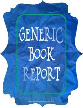 Generic Book Report