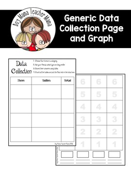 Generic Data Collection Page with Graph