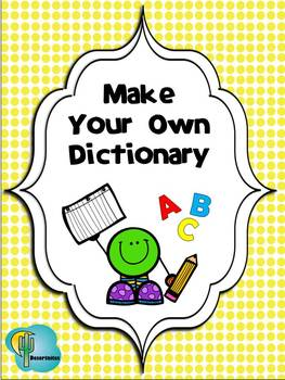 Generic Dictionary Booklet