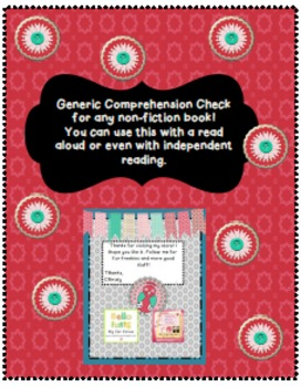 Generic Fiction Comprehension Check