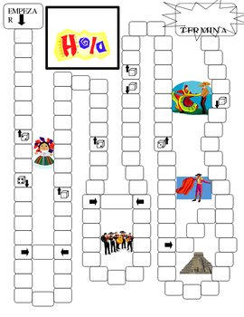 Generic Game Board - Spanish