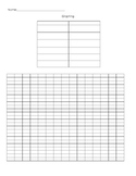 Generic Graphing Freebie
