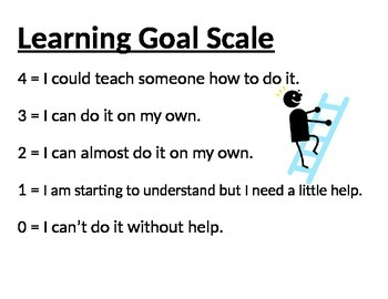 Generic Learning Goal Scale