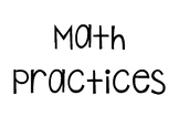 Generic Math Practices