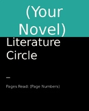 Generic Novel Literature Circle Powerpoint Set
