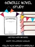 Generic Novel Study
