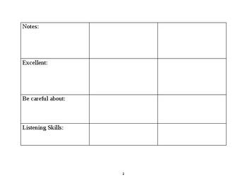 Generic Oral Presentation Evaluation