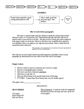 Generic Persuasive Essay Instructions and Rubric