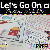 Let's Go On A Picture Walk! {Picture Walk Template For Any Story}