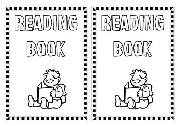 Generic Printable Book Covers