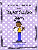 Generic Project Grading Sheets
